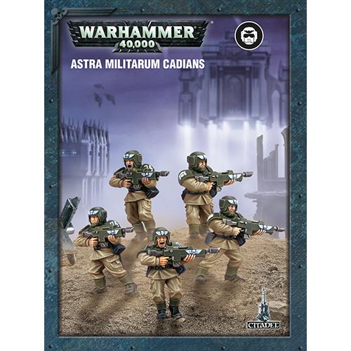 Warhammer: Astra Militarum Cadians