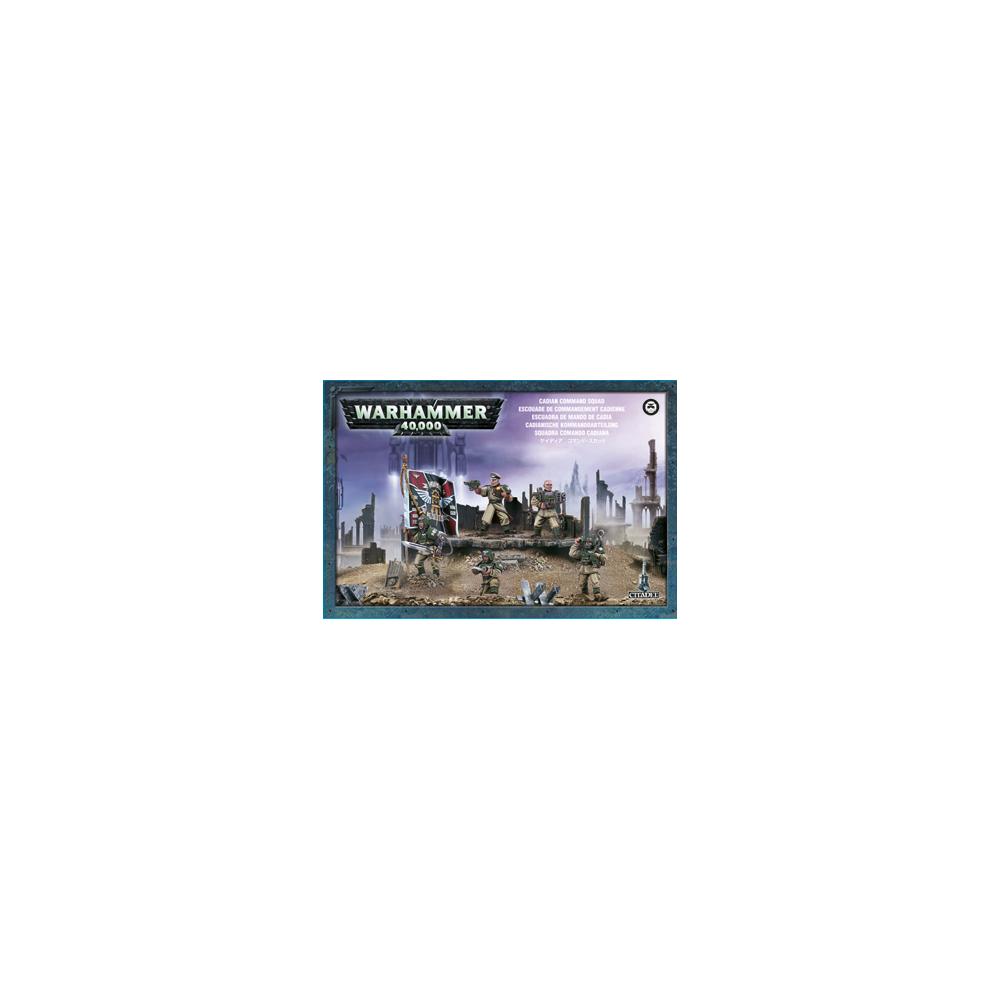 Warhammer: Cadian Command Squad