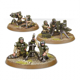 Warhammer: Cadian Heavy Weapon Squad