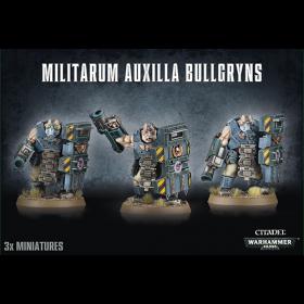 Warhammer: Militarum Auxilla Bullgryns