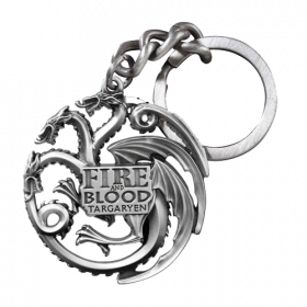 Keychain: Game of Thrones Metal Targaryen Sigil