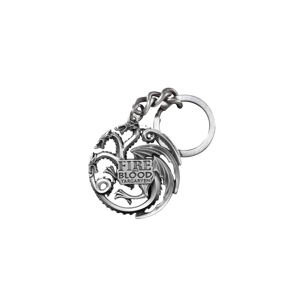Keychain: Game of Thrones Metal Targaryen Sigil