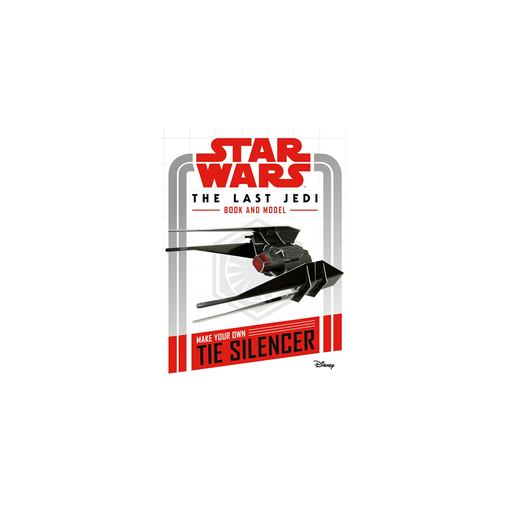 Star Wars The Last Jedi Book & Model