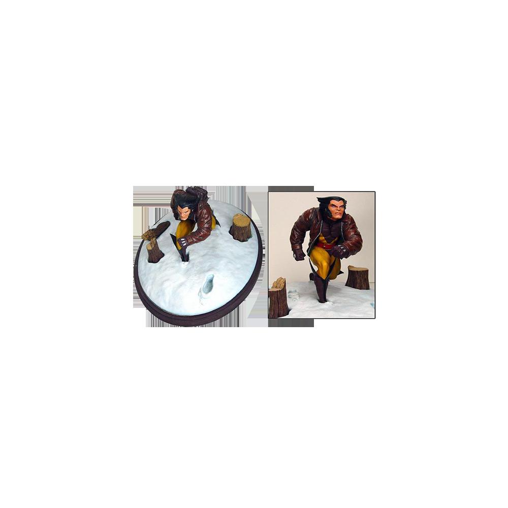 Marvel Premier Wolverine in Snow Statue