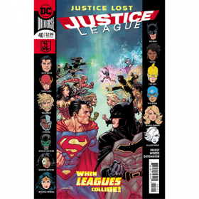 Story Arc - Justice League - Lost