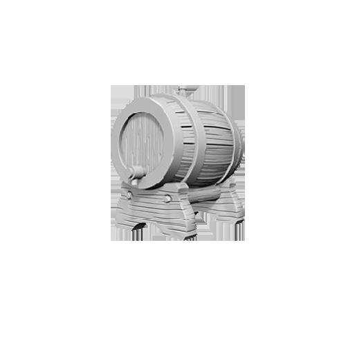 D&D Unpainted Miniatures: Keg Barrels