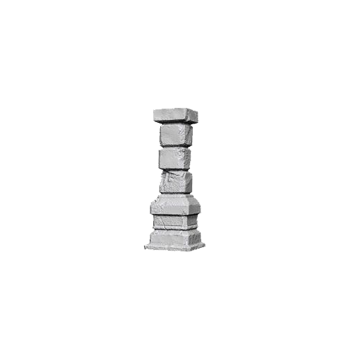 D&D Unpainted Miniatures: Pillars