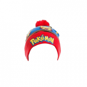 Pokemon - Logo with Pikachu Beanie