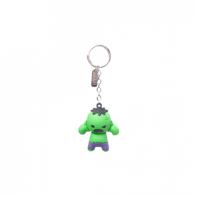 Marvel - The Hulk Character 3D Keychain