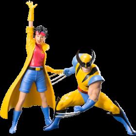 Marvel Universe X-Men 92 Wolverine & Jubilee 2pk Artfx