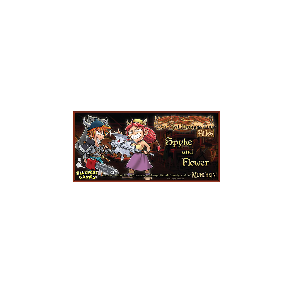 Red Dragon Inn: Allies- Spyke & Flower
