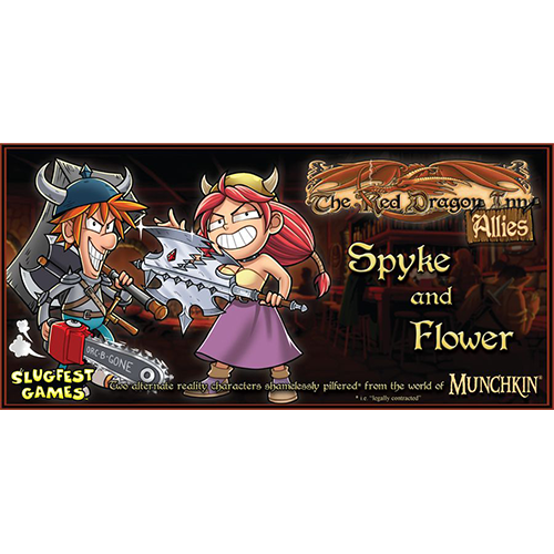Red Dragon Inn: Allies- Spyke & Flower
