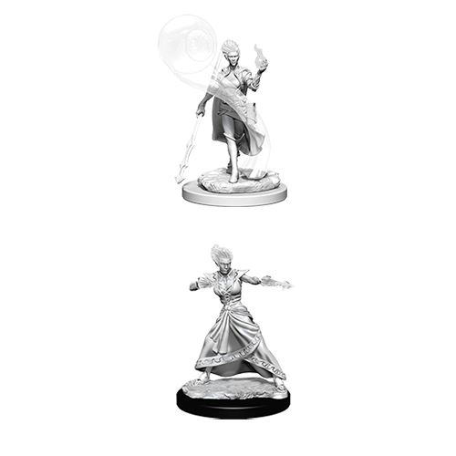 D&D Nolzur's Marvelous Unpainted Miniatures: Fire Genasi Female Wizard