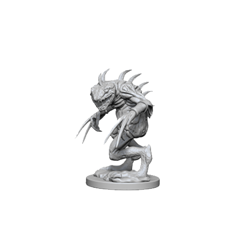 D&D Nolzur's Marvelous Unpainted Miniatures: Grey Slaad & Death Slaad