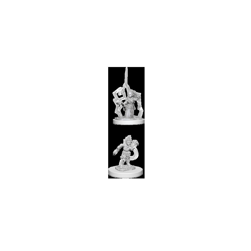 Pathfinder Unpainted Miniatures: Gnome Female Druid