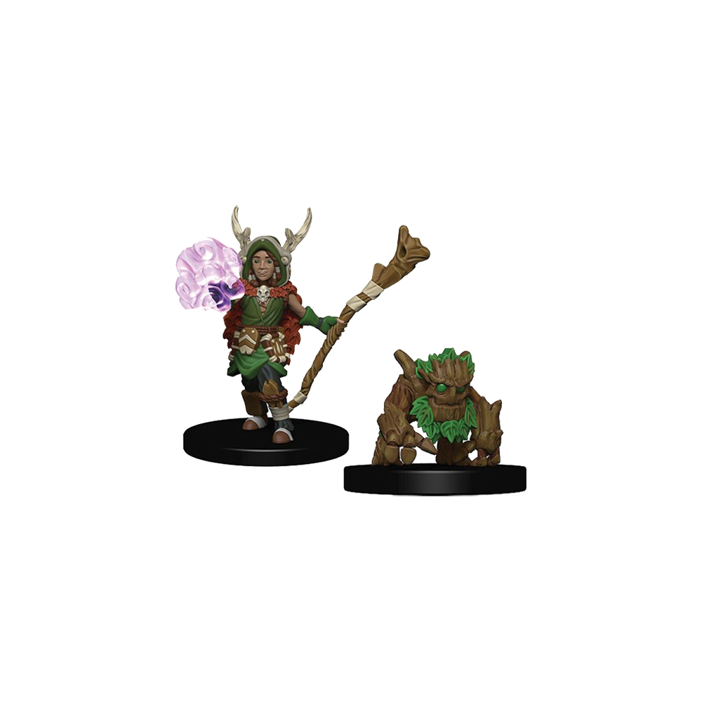D&D Wardlings: Boy Druid and Tree Creature