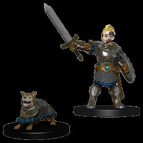 D&D Wardlings: Boy Fighter and Battle Dog