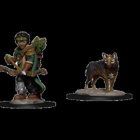 D&D Wardlings: Boy Ranger & Wolf
