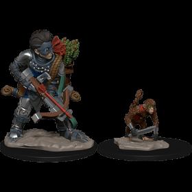 D&D Wardlings: Boy Rogue & Monkey