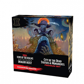 Dungeons & Dragons Icons of the Realms: Waterdeep Dragon Heist - City of the Dead Case Incentive