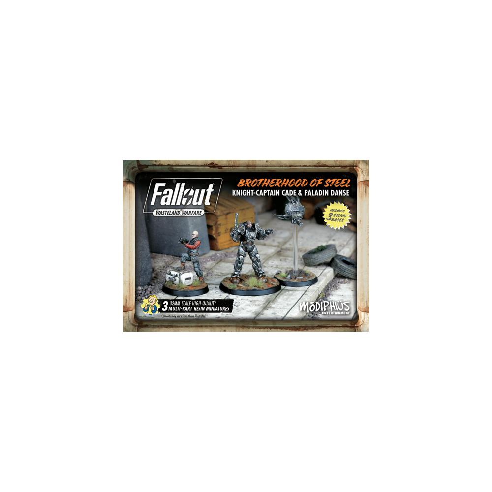 Fallout: Wasteland Warfare - Brotherhood of Steel Knight: Captain Cade