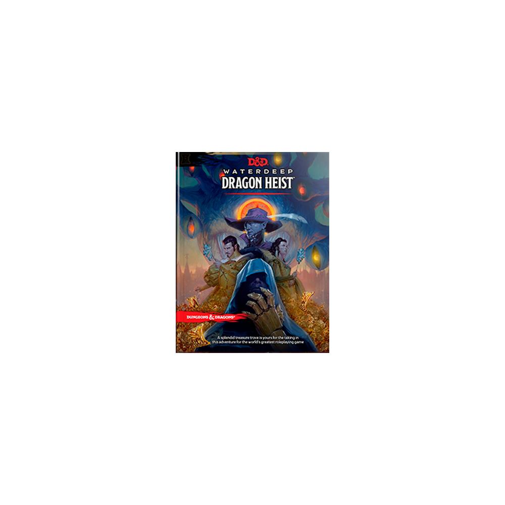 Dungeons & Dragons Waterdeep Dragon Heist Book