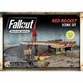 Fallout: Wasteland Warfare - Red Rocket Scenic Set Acc