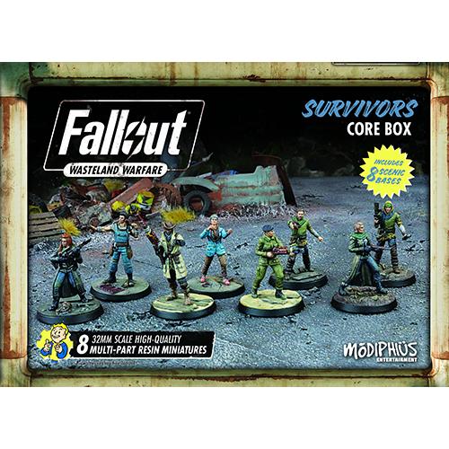 Fallout: Wasteland Warfare - Survivors Core Box
