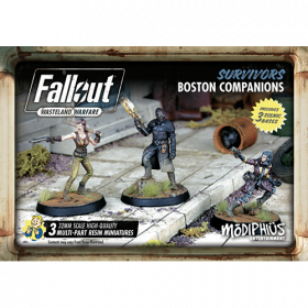 Fallout: Wasteland Warfare - Survivors: Boston Companions