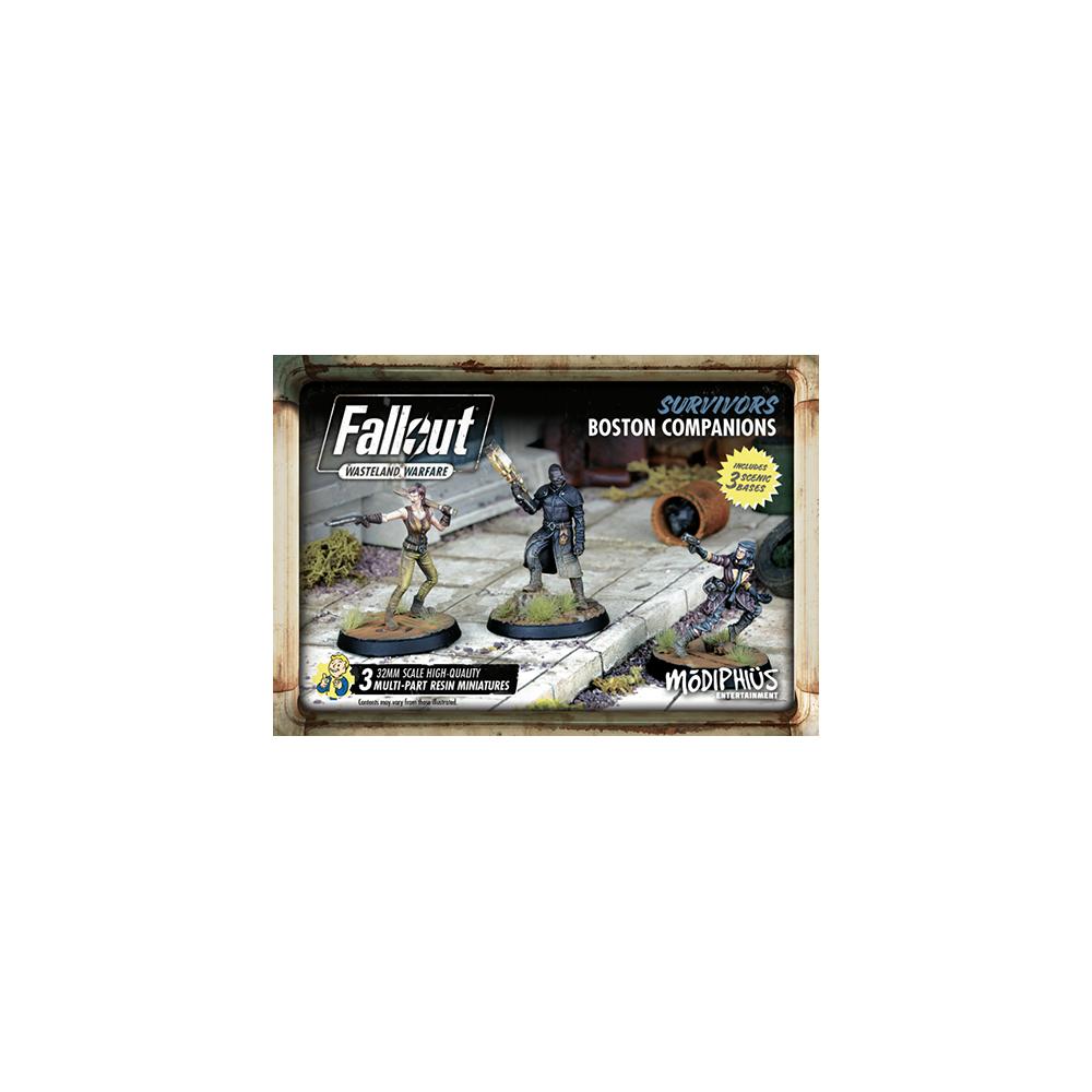 Fallout: Wasteland Warfare - Survivors: Boston Companions