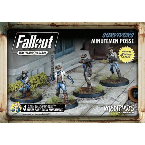 Fallout: Wasteland Warfare - Survivors: Minutemen Posse