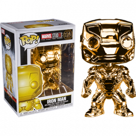 Funko Pop: Marvel Studios 10: Iron Man (Chrome)