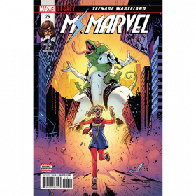 Story Arc - Ms Marvel - Teenage Wasteland