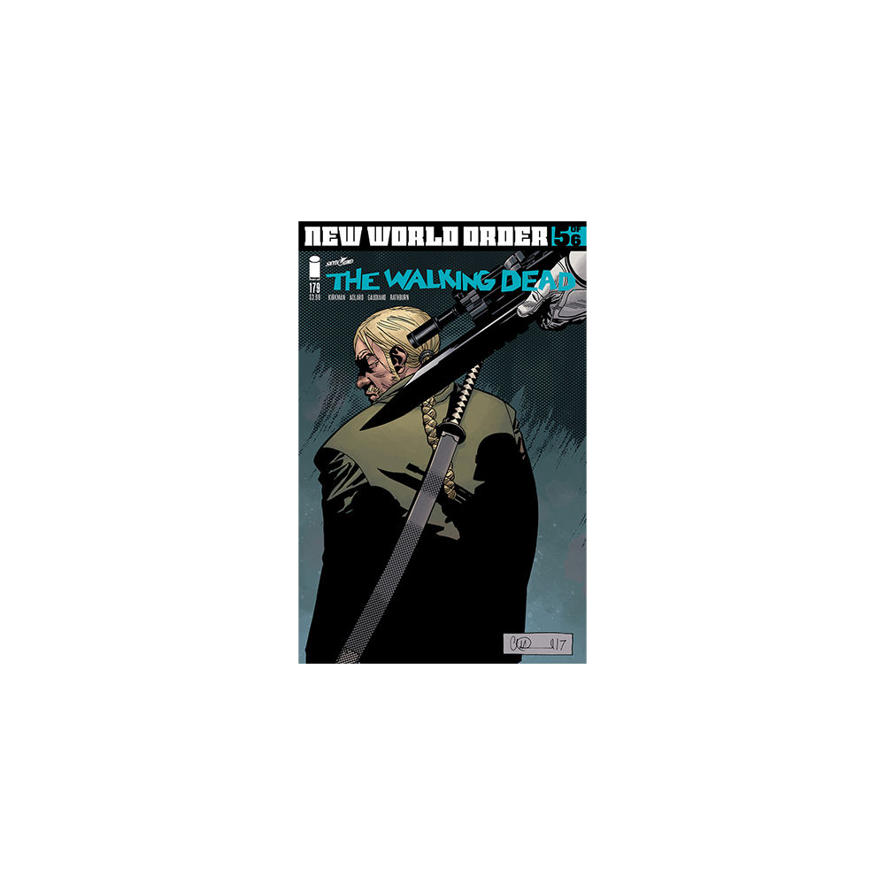 Story Arc - Walking Dead - New World Order