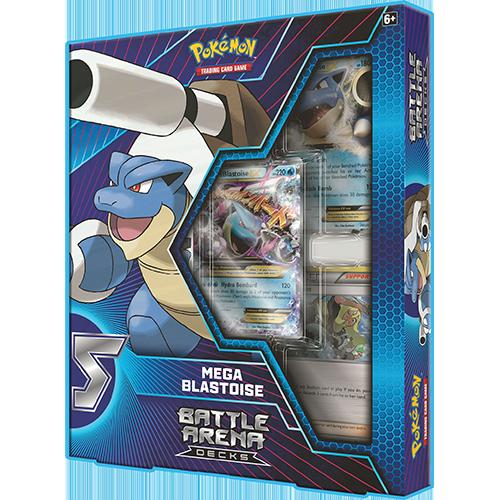 Pokemon Trading Card Game: Battle Arena Decks - Mega Blastoise