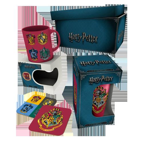 Cutie cadou: Harry Potter Crests v2.0