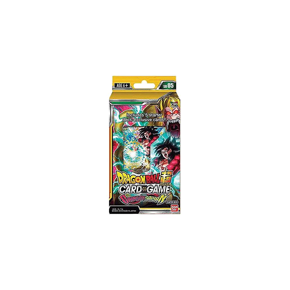 Dragon Ball Super TCG: Starter Deck The Crimson Saiyan