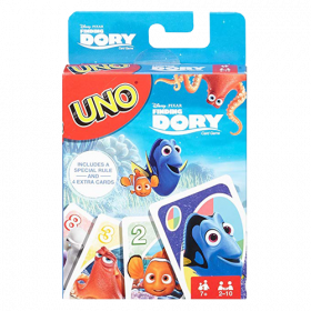 Finding Dory UNO Card Game