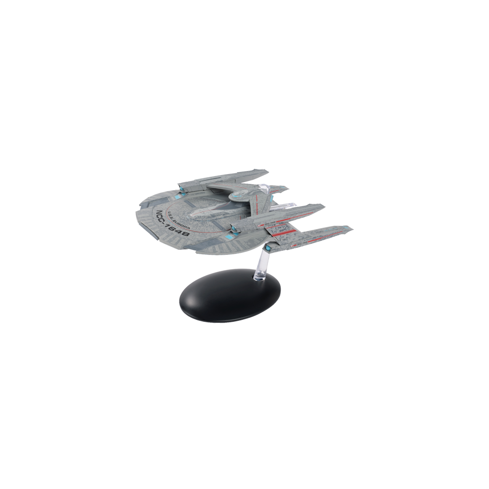 Star Trek Discovery Fig Mag 5 USS Europa NCC-1648