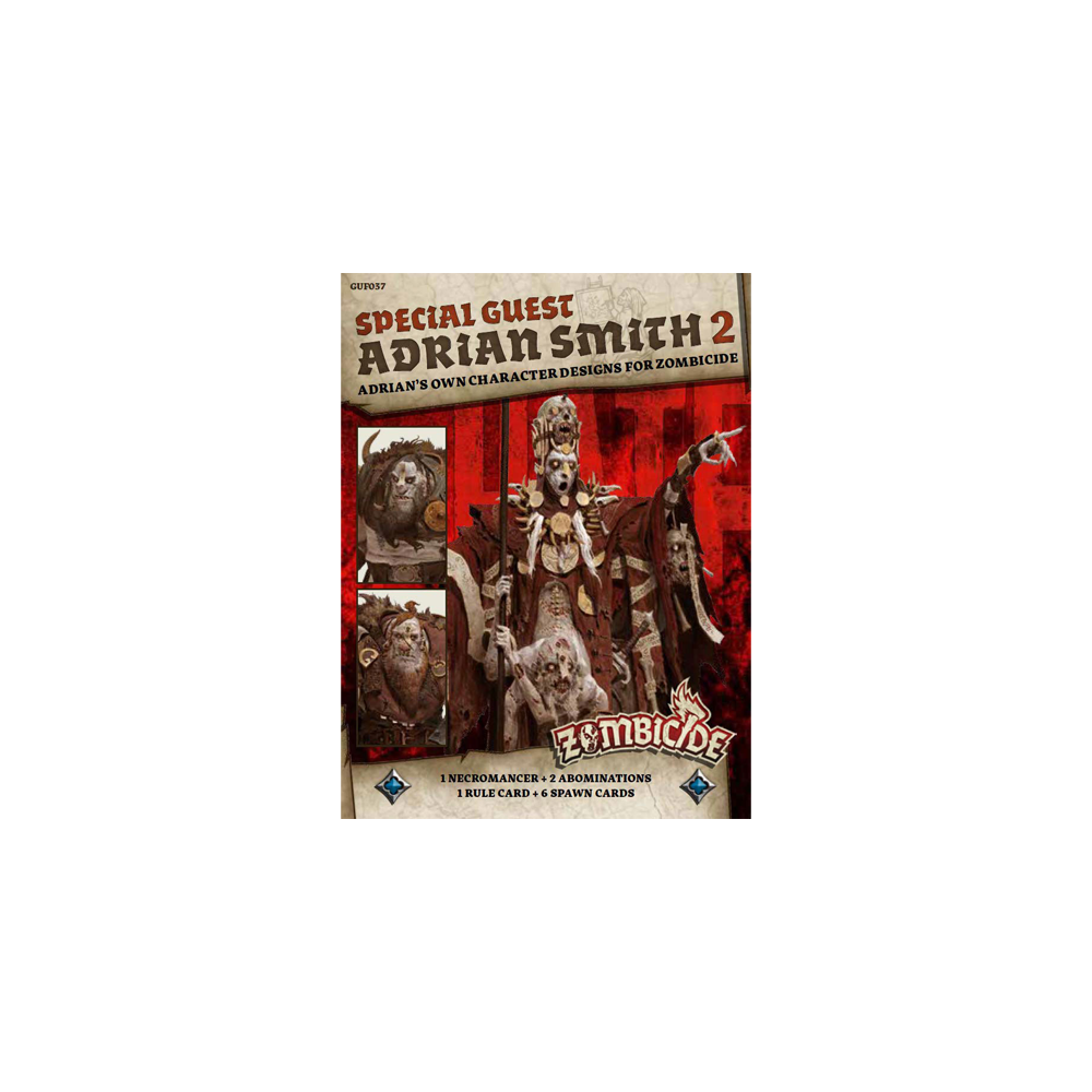 Zombicide Green Horde: Special Guest - Adrian Smith