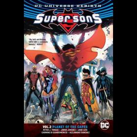 Super Sons TP Vol 02 Planet of The Capes (Rebirth)