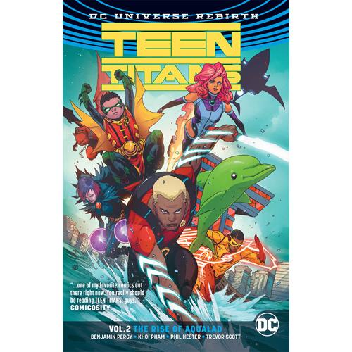 Teen Titans TP Vol 02 The Rise of Aqualad (Rebirth)