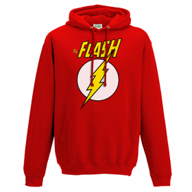 The Flash - Logo And Symbol Pullover Hoodie