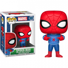 Funko Pop: Marvel: Holiday Spider-Man w/ Ugly Sweater