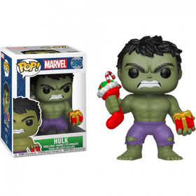 Funko Pop: Marvel: Holiday Hulk w/ Stocking & Plush