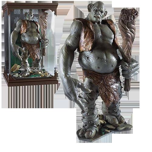 Figurina: Harry Potter Magical Creatures - Troll