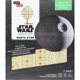 Star Wars IncrediBuilds 3D Wood Model Kit Death Star