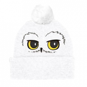Harry Potter - Hedwig Eyes Pompom Beanie