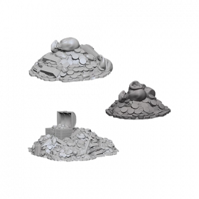 D&D Unpainted Miniatures: Treasure Piles