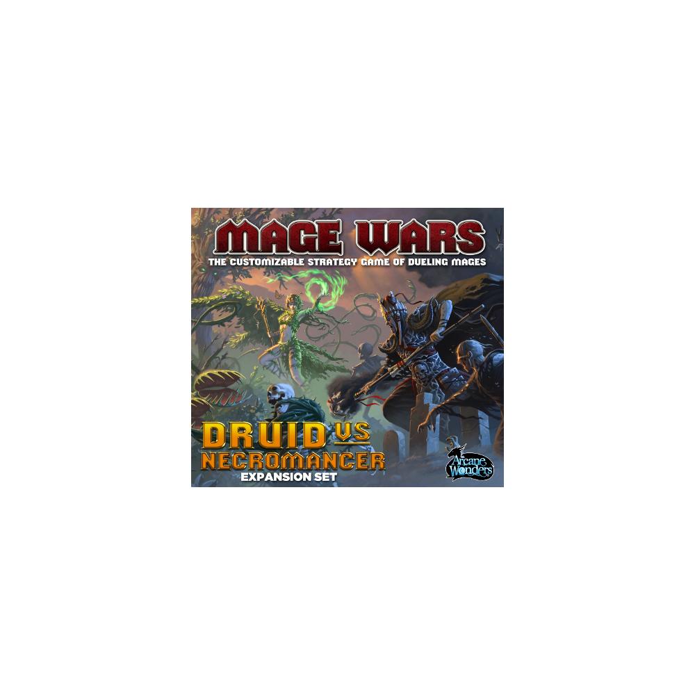 Mage Wars: Druid vs. Necromancer